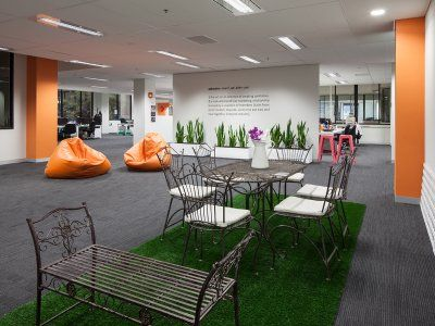 Concept Office Interiors In This Breakout Was Designed By Concept Office Interiors To Be Fun And Creative Area For Staff