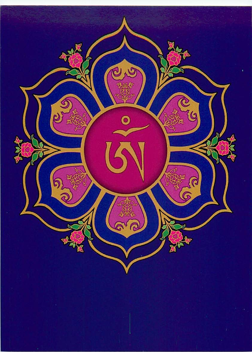 Tibetan om symbol in lotus throne mandala buddhism finally a six tibetan om symbol in lotus throne mandala buddhism finally buycottarizona