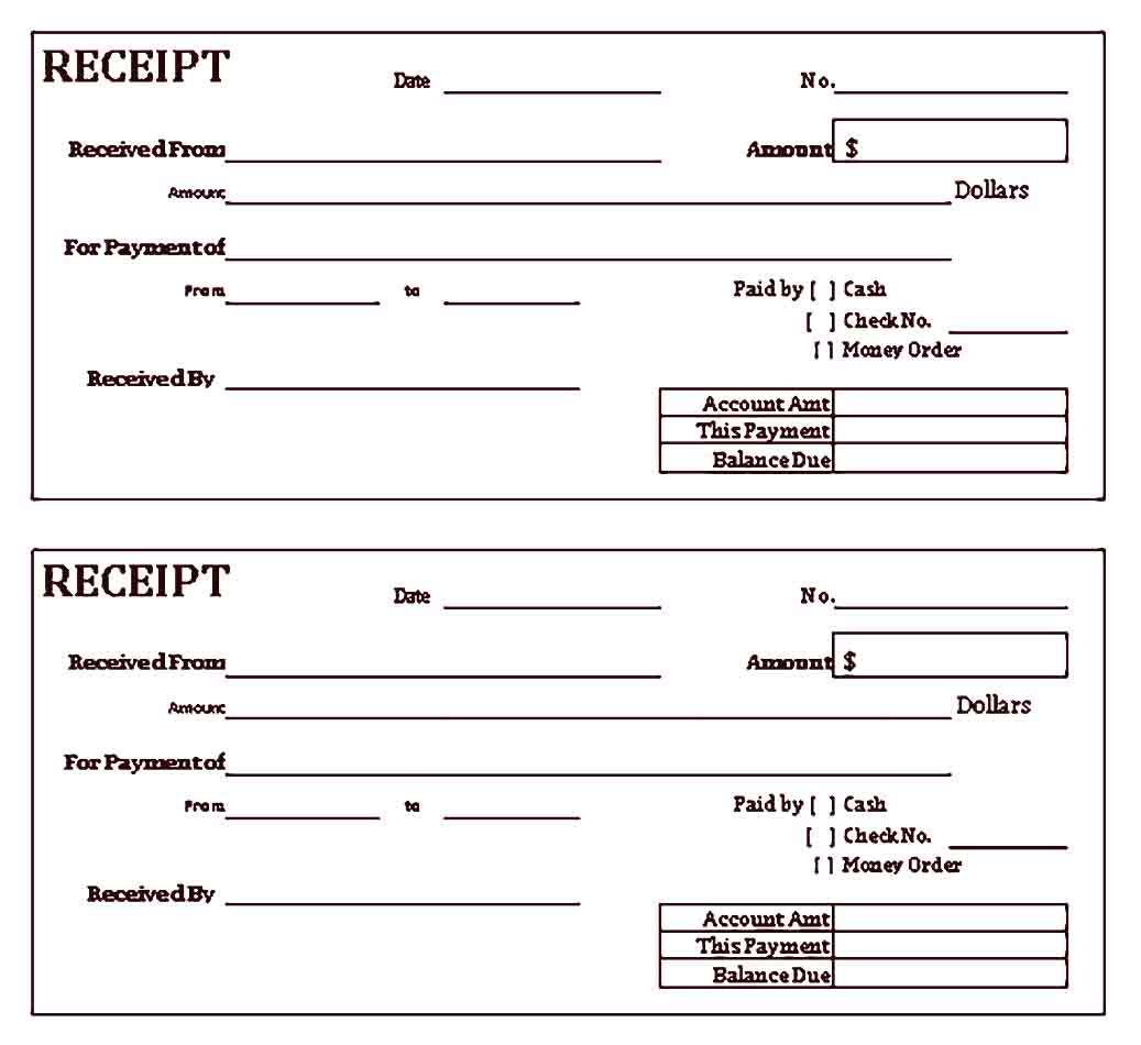 Free Cash Receipt Sample Templates Receipt Template Template Printable Free Cash