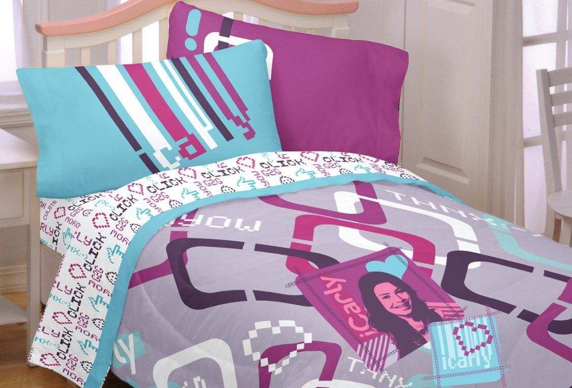 iCarly Bedding Twin comforter, Comforters, Home decor