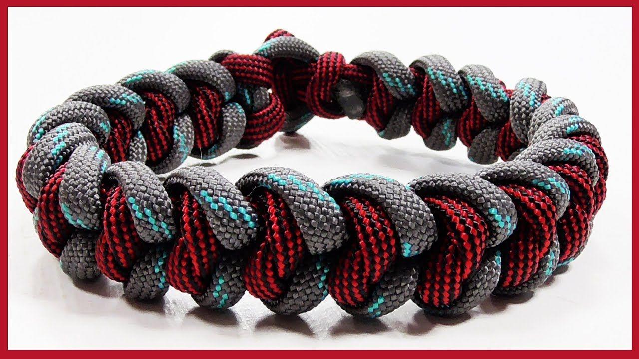 Tutorial Regal Snake Knot Bracelet Design With Loop Toggle