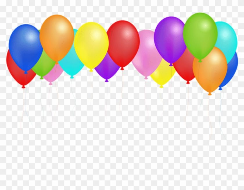 Transparent Background Birthday Balloons Png Happy Birthday
