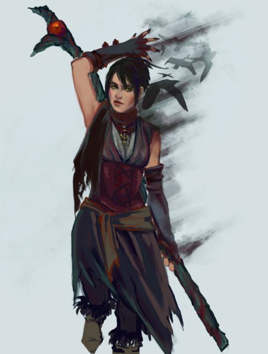 nataliarud | Dragon age characters, Morrigan dragon age