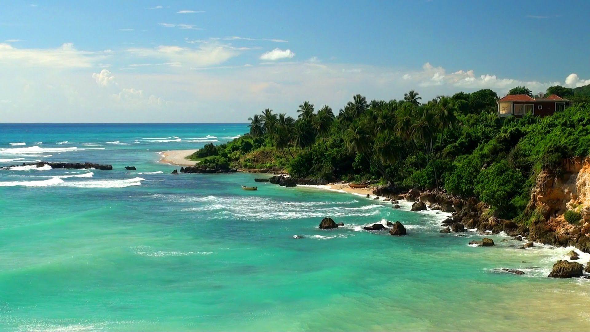 Calm Ocean Sounds Relaxing Tropical Beach Waves