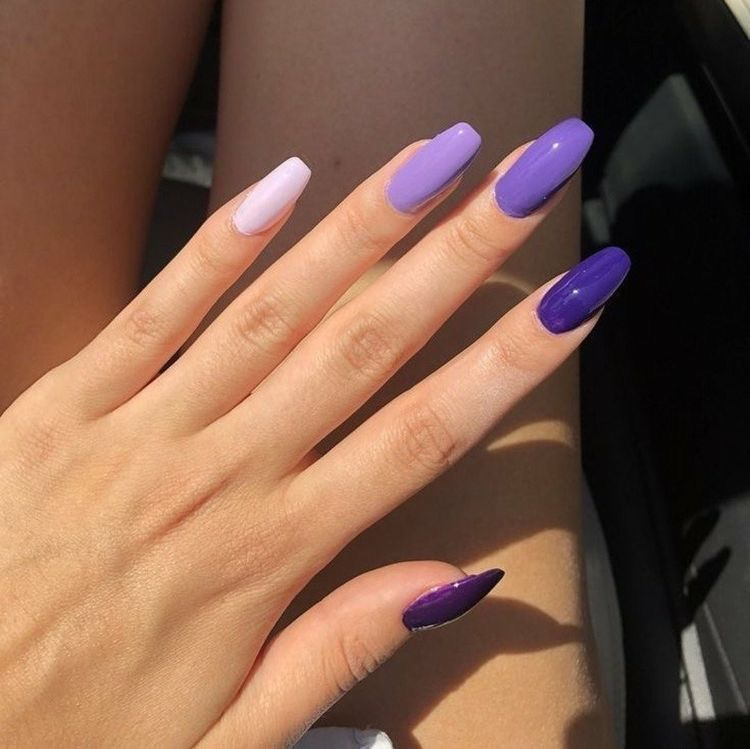 Pinterest Zoewal16 In 2020 Purple Nails Pretty Acrylic Nails Fire Nails