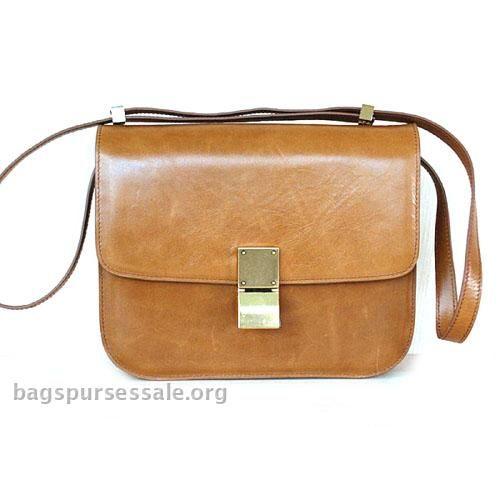 Celine Classic Box Shoulder Brown Bag Discount Code -  Celine Box Bags  - ( ad94256617263