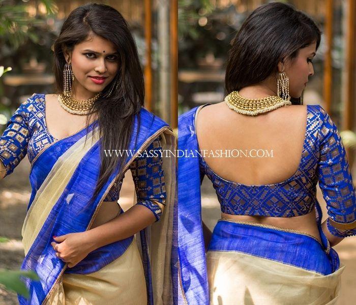 7f1e29e78a12a 13 New Blouse Back Neck Designs For Pattu Sarees