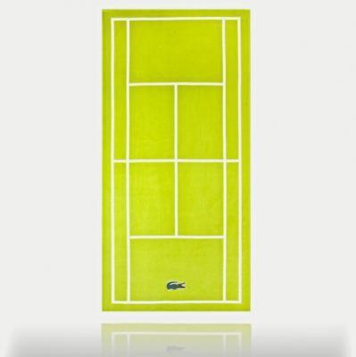 b5ab2dc35f Serviette de plage Court de tennis lacoste | Cadeaux homme | Lacoste ...
