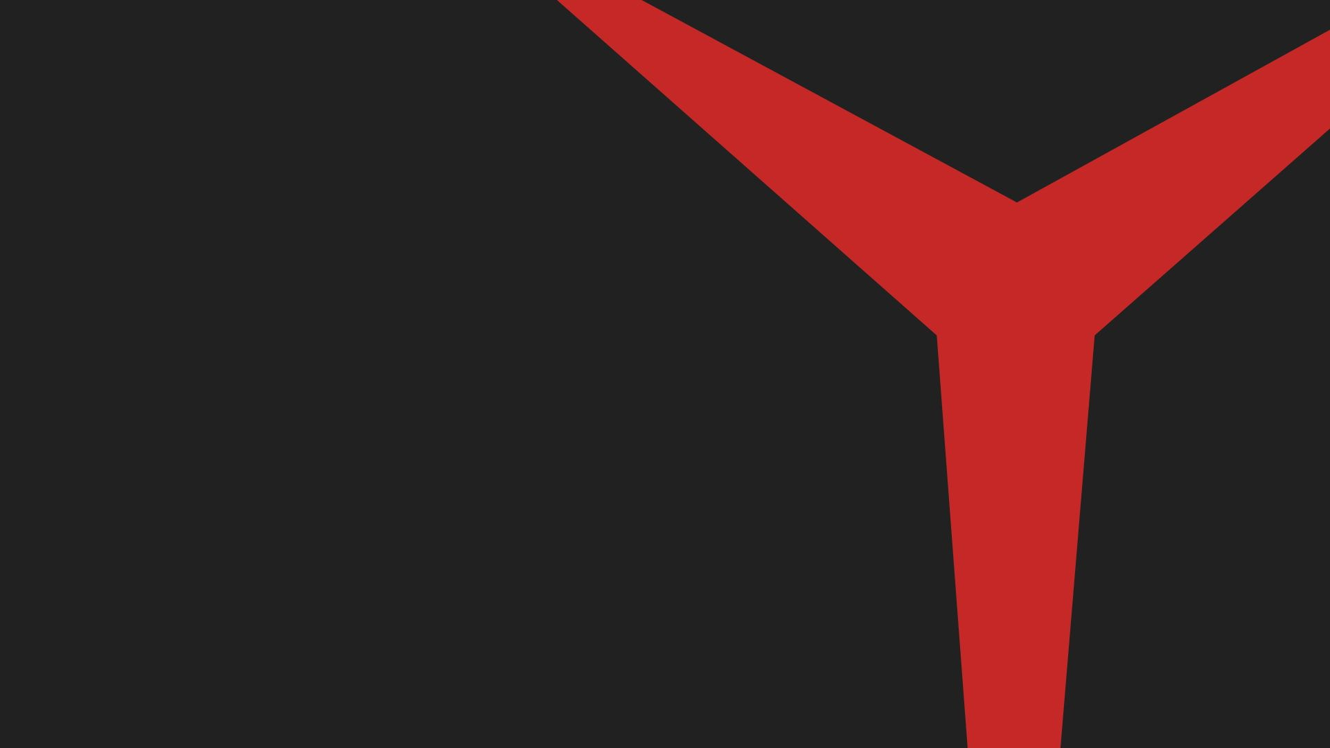 Lenovo Legion Minimalism Red 1080p Wallpaper