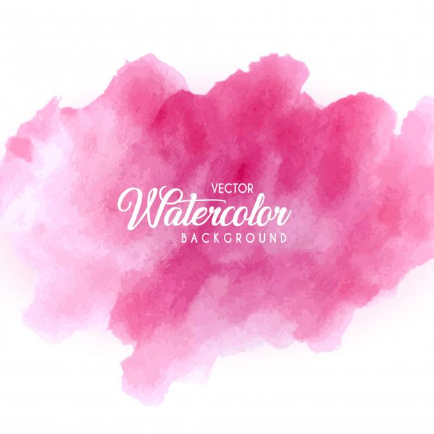 Pink Watercolor Background In 2020 Watercolor Background