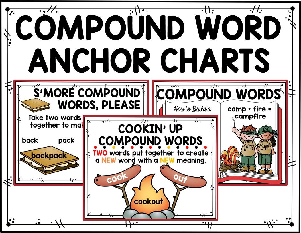 Compound Words Games Worksheets And Activities