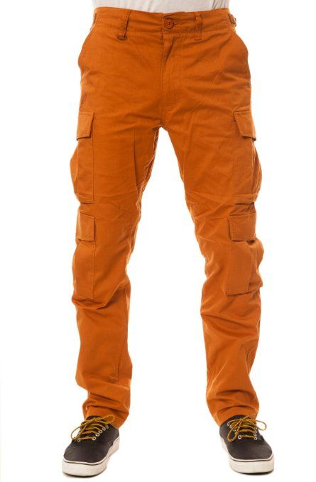 23ddbac9ac8 Publish Men s Avenir Cargo Pants 38 Burnt Orange at Amazon Men s Clothing  store