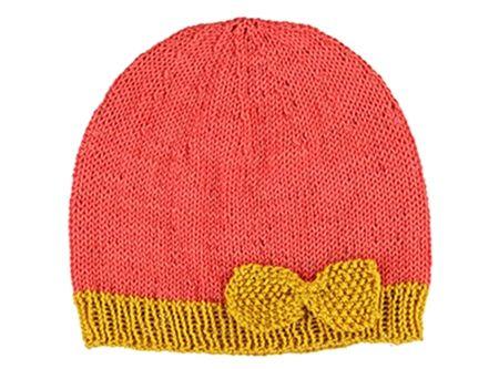 Bonnet rose pour bebe   By Veritas.   Diy tricot   Pinterest   Bebe ... b4c390ba678