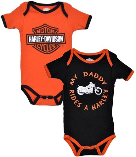 Harley Davidson Baby Clothes My Daddy Rides A Harley Leather Bound Online Harley Davidson Baby Harley Baby Clothes Rock Baby Clothes