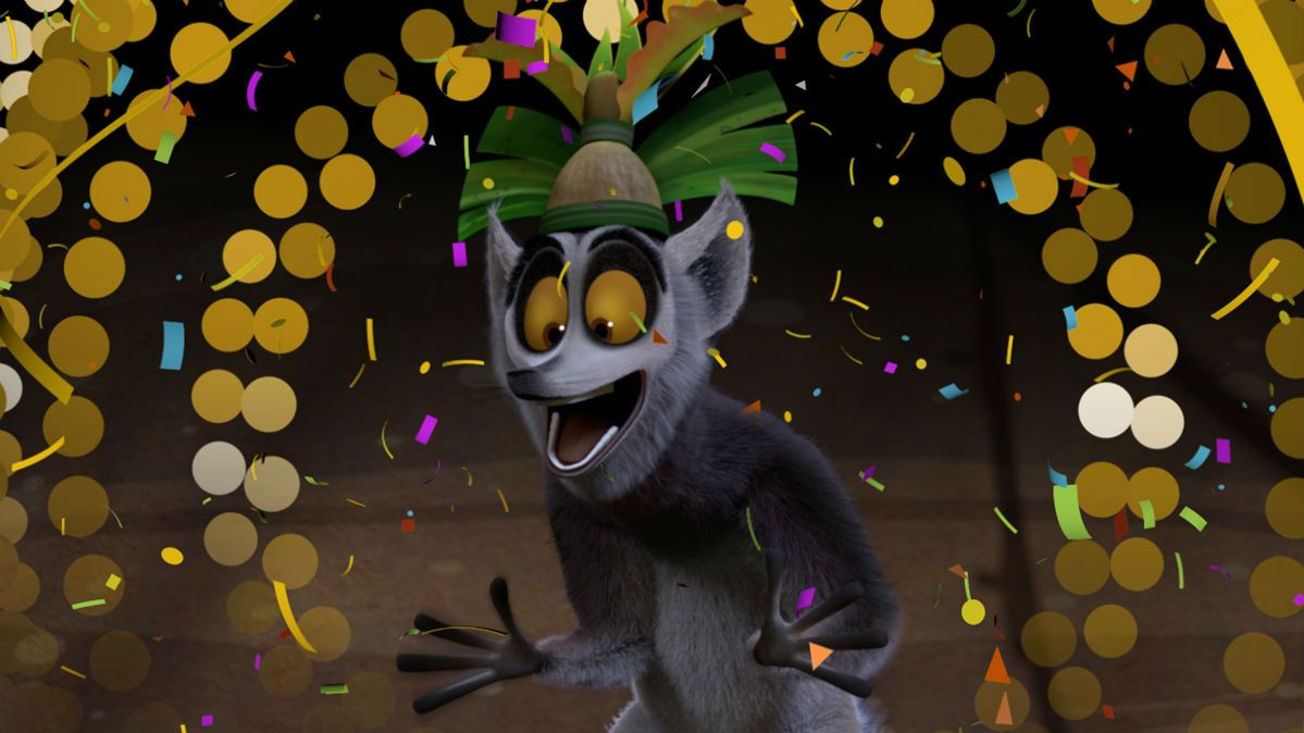 Netflix And King Julien Host Early New Years Eve Countdown