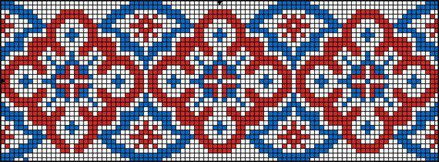 Скачать » Вышивка крестом - Схемы орнаментов, геометрические узоры ( Украинские узоры для вышивки )[xsd] » Миллион книг, журналов, статей дл...