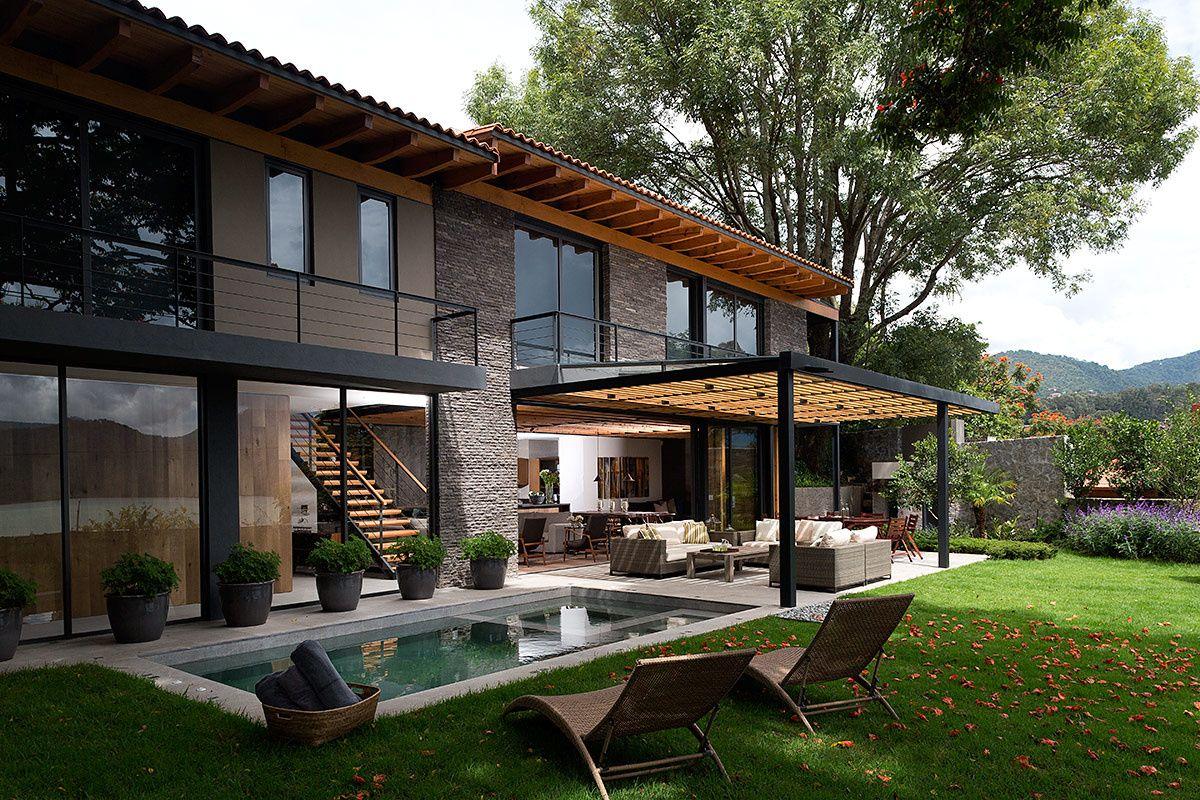 casa de descanso en valle de bravo architecture house