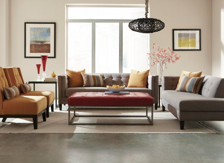 Room · Jonathan Louis Strathmore : jonathan louis chaise lounge - Sectionals, Sofas & Couches