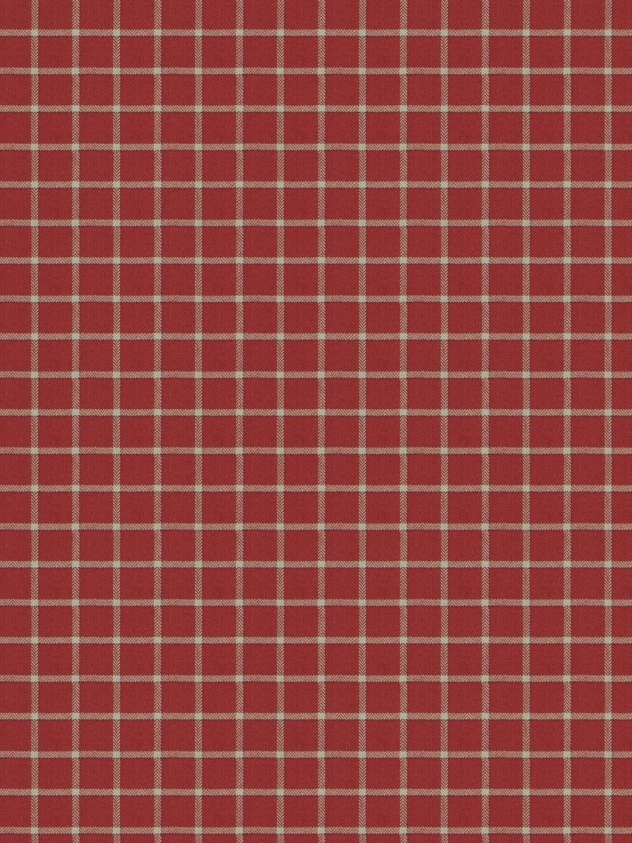 Campaign Plaid Vermillion