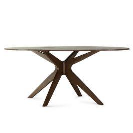 Super linda, a Mesa de jantar Larozzi funciona muito bem para compor salas de jantar com muito estilo e qualidade.