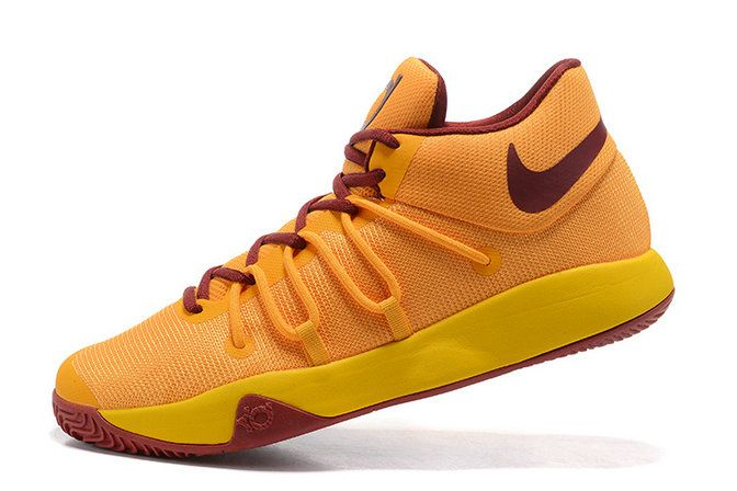 035439a345cd Free Shipping Only 69  KD Trey 6 EP 2017 CAVS Away Wine Gold ...
