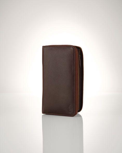 Polo Ralph Lauren Lederbrieftasche mit Reißverschluss - Polo Ralph Lauren Geldbörsen - Ralph Lauren Deutschland