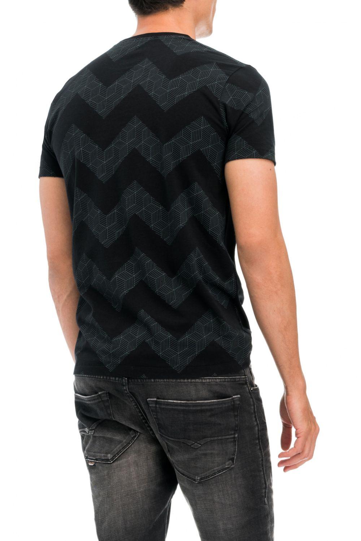 Salsa Camiseta con Estampado y Contraste de Colores DdVgyy
