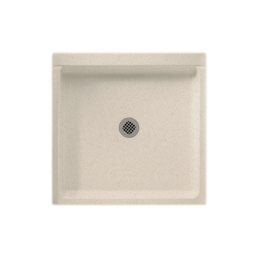 Swan 36 In X 36 In Solid Surface Single Threshold Shower Pan In