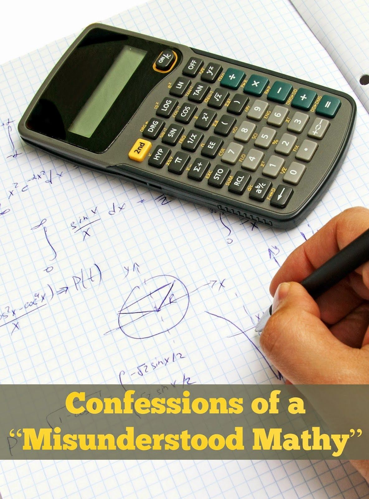 Confessions Of A Misunderstood Mathy