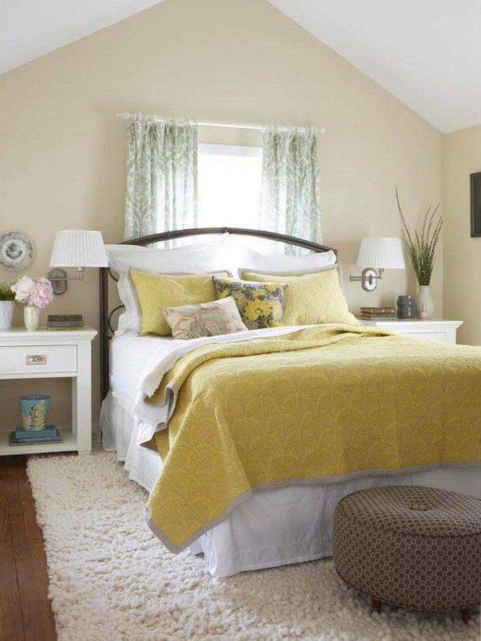 Design Schlafzimmer Mit Dachschr Ge Farblich Gestalten