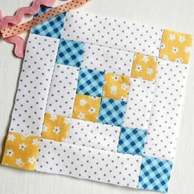 On this page you will find every block from The Patchsmith's Sampler Quilt Blo… – Blocos Patchwork