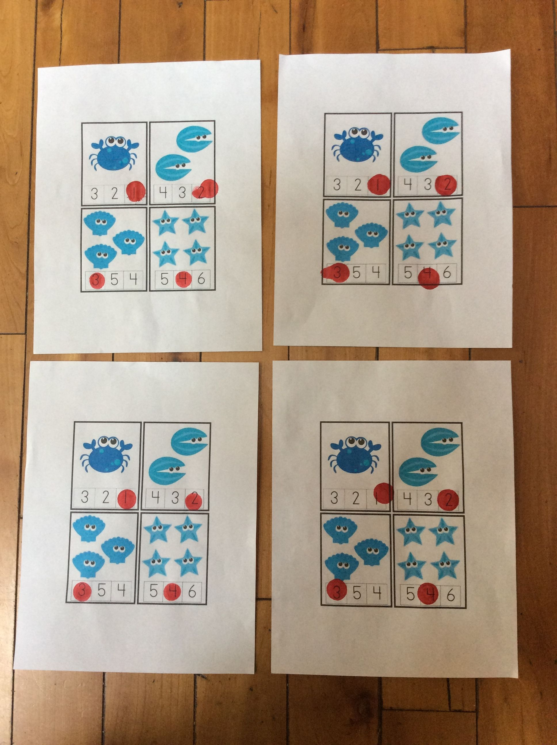 Under The Sea Math Activity With Images
