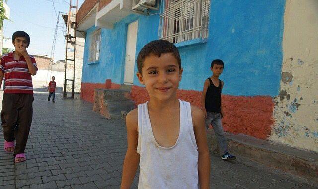 The street children of Amed, Kurdistan.