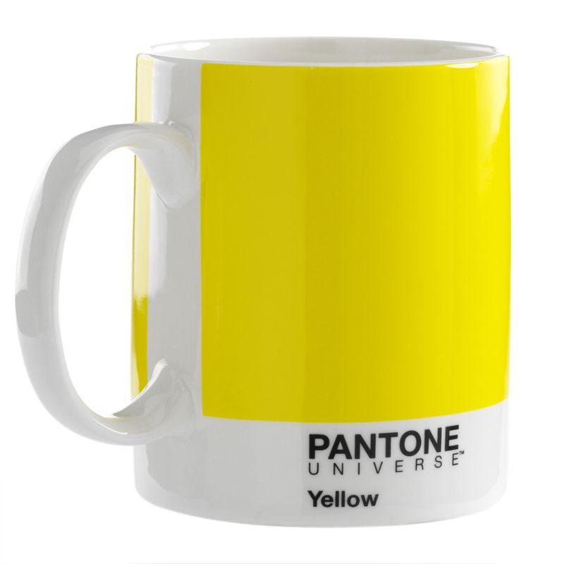 Color amarillo yellow pantone yellow mug
