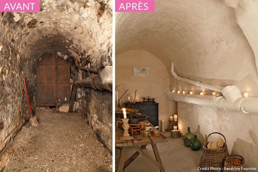 L am nagement d une cave vo t e cave amenagement cave for Crepir un mur interieur