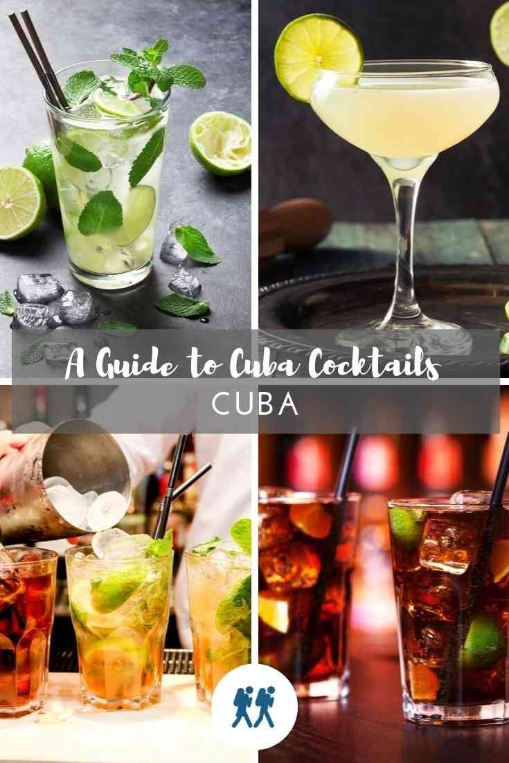 4 Cuban Cocktails that tell a history of Cuba