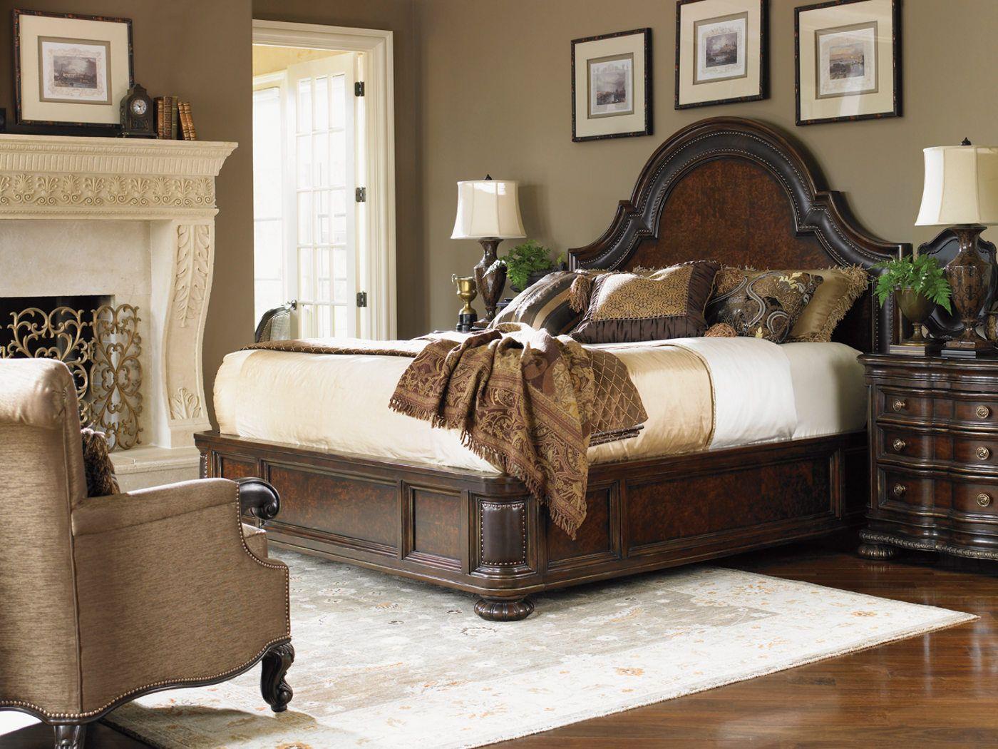 Cavallino Bedroom Set Part - 37: Fairmont Designs Florentino Cavallino Platform Bedroom Set