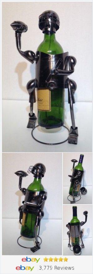 Football Beer Bottle Holder - Metal Imagination  Soccer Wine Holder