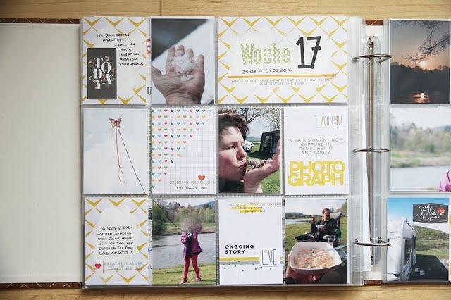 DT Scrapbook Werkstatt - Project Life Juni Kit - Scrapbook  Werkstatt - PL Woche von Katja Müller
