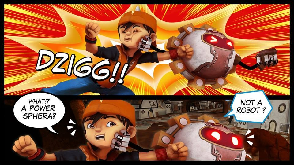Comic BoBoiBoy: Galactic Heroes from 8elements!  more comic: https://goo.gl/4MdvrH