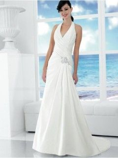 Simple And Elegant Halter Top That Special Day Wedding Dress
