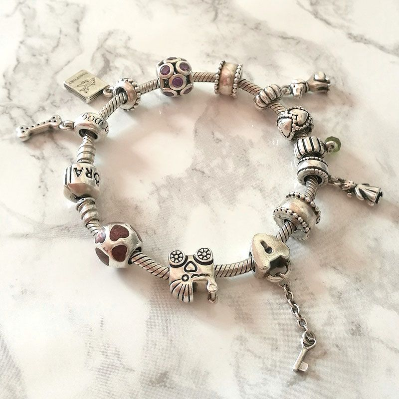 Remove Tarnish From Silver Jewellery Cleaning Pandora Bracelet