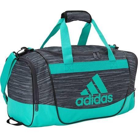 26a08d783dca Adidas Defender II Small Duffel - Deepest Space Freerun   Shock Mint - All  Purpose Duffel Bags