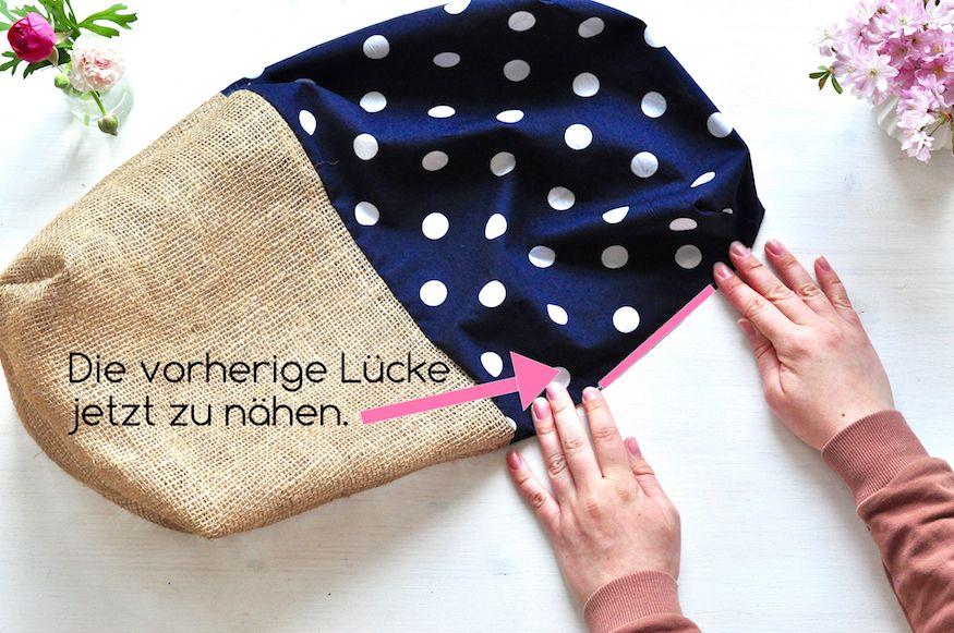 Photo of Brotkorb nähen – Anleitung von Miss Homemade