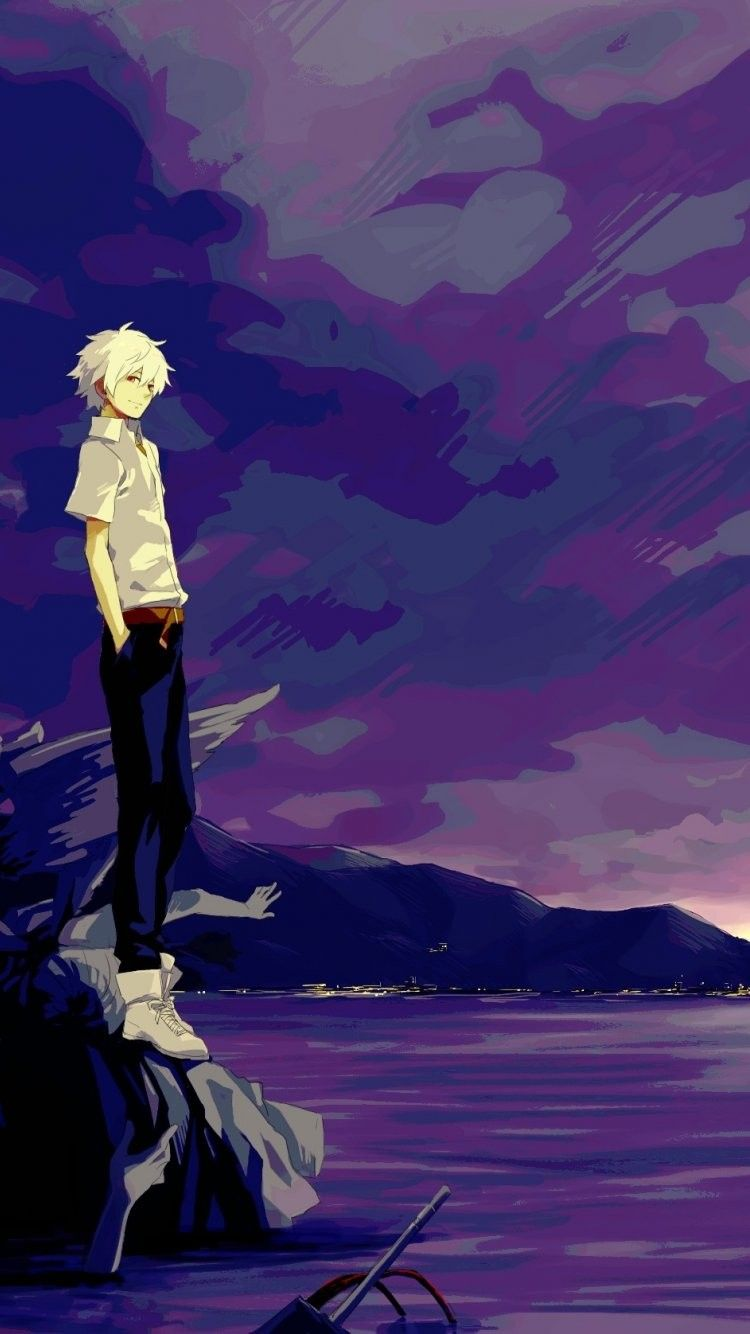 Kaworu Nagisa Iphone 6 Wallpaper Evangelion Iphone 6 Wallpapers
