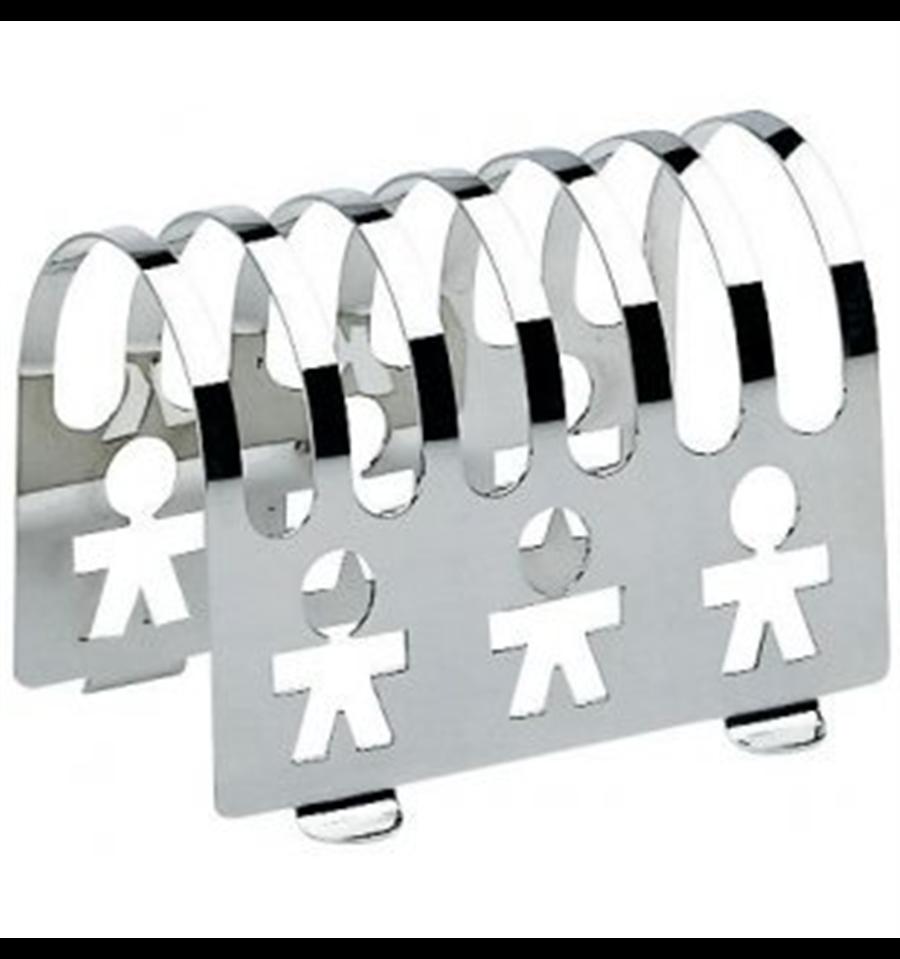 Alessi Girotondo toast rack - Simplicity.
