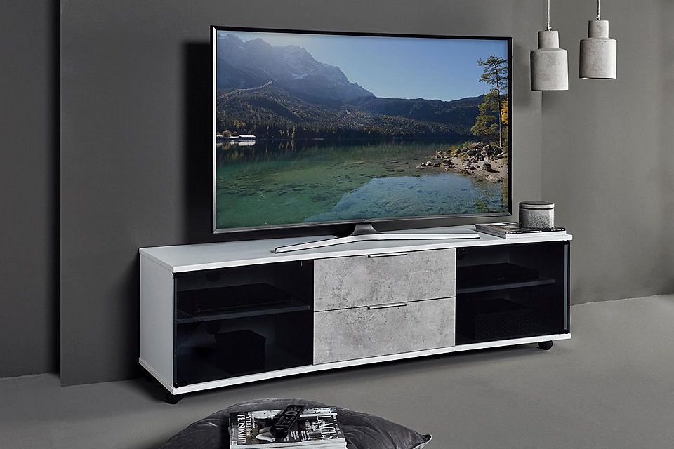 Jahnke »Curve TV 160« Lowboard, Breite 159 cm Jetzt bestellen unter