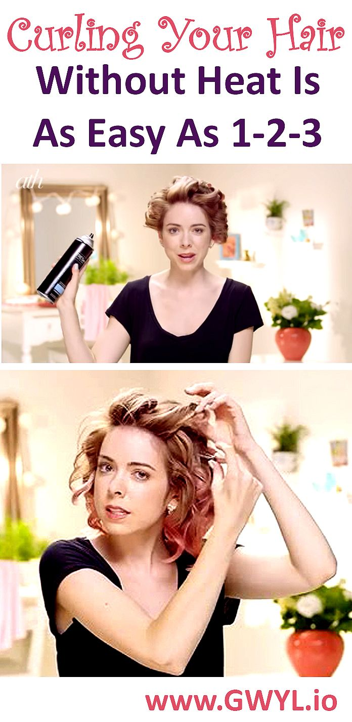 Get Beautiful Curls Without A Curling Iron