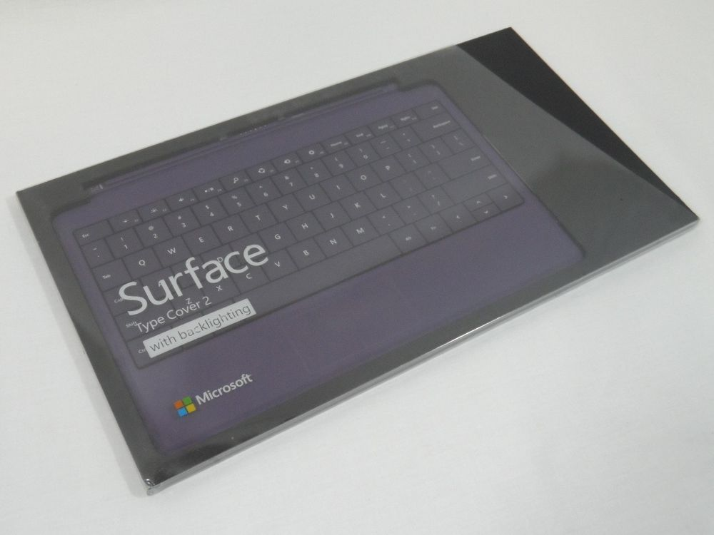 RT PURPLE Pro 2 GENUINE MICROSOFT Surface 2 Type Cover for SURFACE