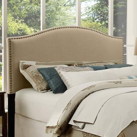 Better Homes And Gardens Grayson Linen Headboard With Nailheads Multiple Colors Sizes
